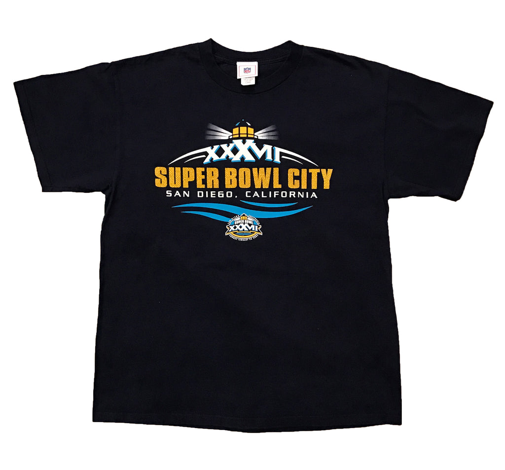 SAN DIEGO CHARGERS SUPERBOWL CITY 2003 (NAVY)