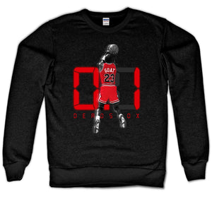 THE SHOT CREWNECK (BLACK)