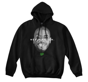WE RUN BOSTON HOODIE (BLACK)