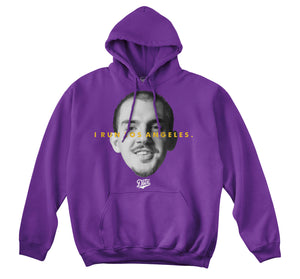 WE RUN LA - CARUSO HOODIE (PURPLE)