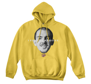 WE RUN LA - CARUSO HOODIE (GOLD)
