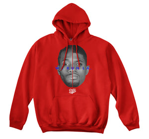 WE RUN LA - LOCK CITY HOODIE (RED)