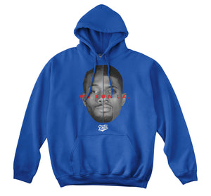 WE RUN LA - LOCK CITY HOODIE (ROYAL)