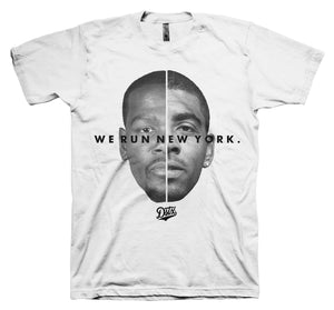 WE RUN NEW YORK - BK (WHITE)