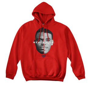 WE RUN NOLA HOODIE (RED)