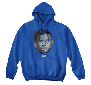 WE RUN PHILLY HOODIE (ROYAL)