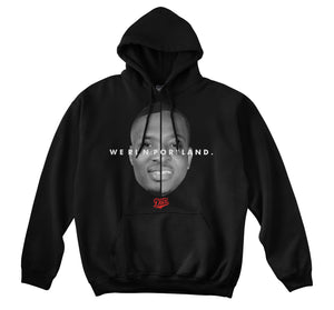 WE RUN PORTLAND HOODIE (BLACK)