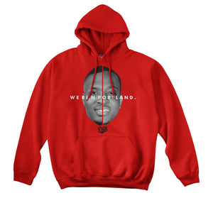 WE RUN PORTLAND HOODIE (RED)