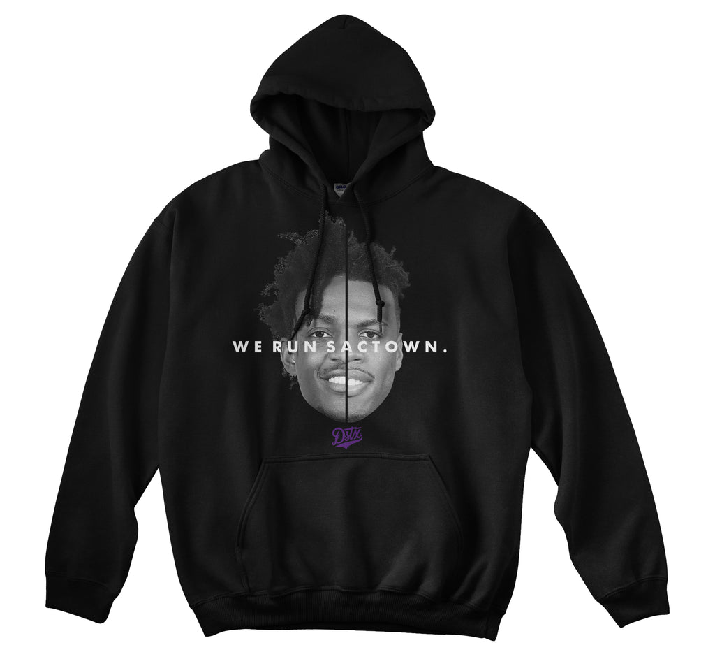 WE RUN SACTOWN HOODIE (BLACK)