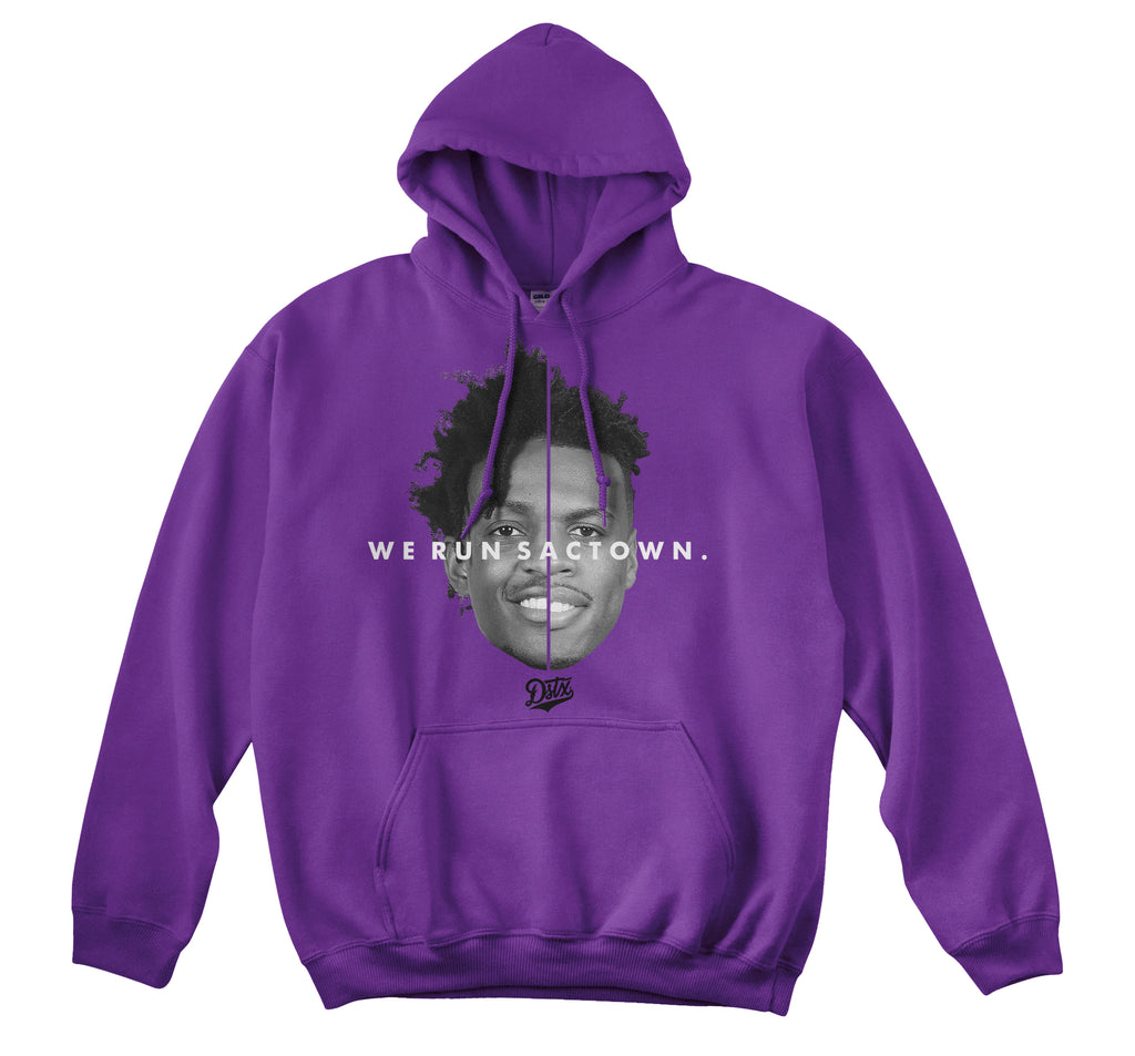 WE RUN SACTOWN HOODIE (PURPLE)