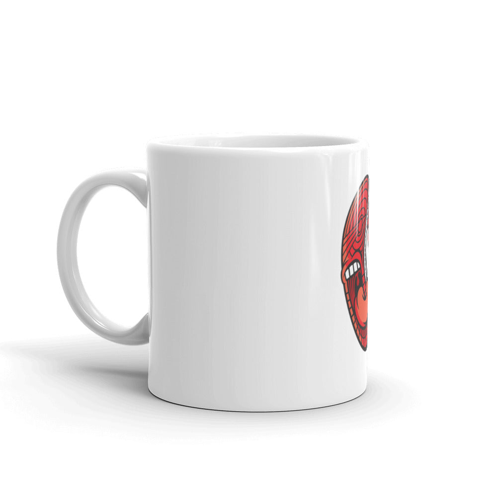 SCREAMING J MUG (WHITE)