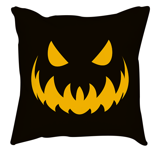 Halloween Evil Emoticon Pillow 1
