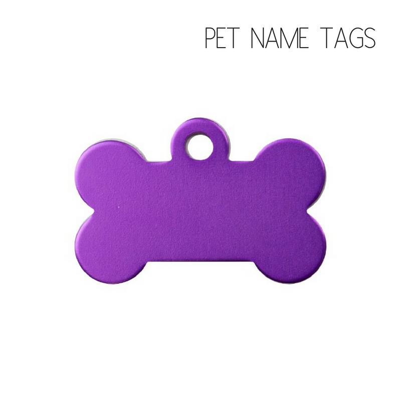 Personalised Dog Name Tags