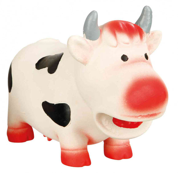 Trixie Cow Latex Dog Toy