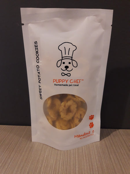 Puppy Chef Sweet Potato Cookies