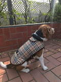 PoochMate Duffle Checks Coat