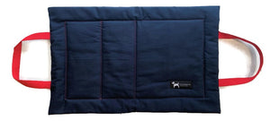 PoochMate Quilted Travel Mat - Navy