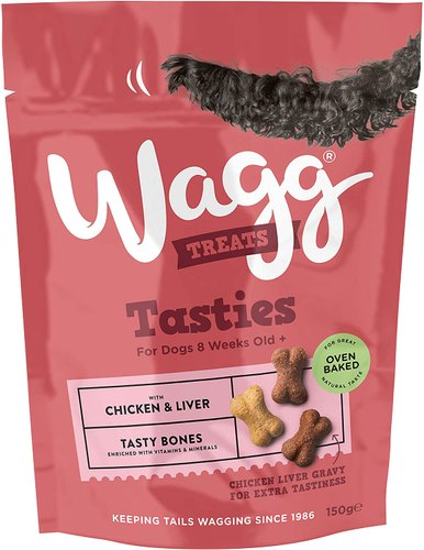 Wagg Chicken & Liver Tasty Bones 150 Grams