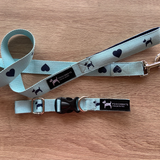 PoochMate Monogram Leash & Collar Set