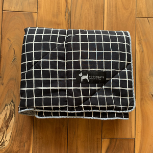 PM OAK Classy Checkered Blanket Medium