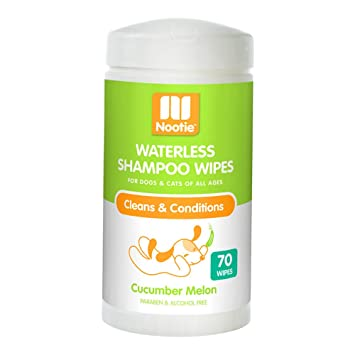 Nootie Cucumber Melon Dog & Cat Body Wipes