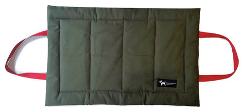 PoochMate Quilted Travel Mat - Olive