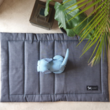 PoochMate Quilted Grey Mat