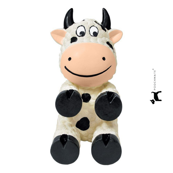 Kong Wiggi Cow Toy