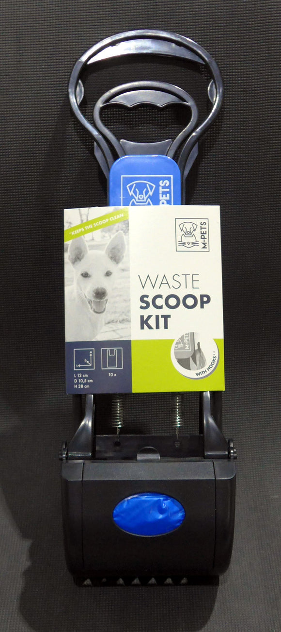 M-Pets Pet Scooper with poop bags