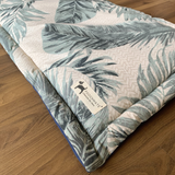PM OAK Palm Leaf Dog Mat - Medium