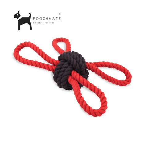 Pet Brands New England Sailors Knot Dot Toy