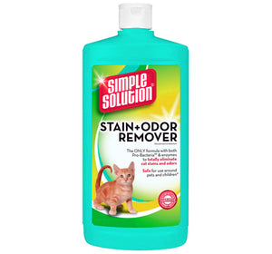 Simple Solutions Stain + Odour Remover for Cats - 1 Ltr
