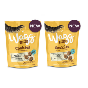 Wagg Peanut Butter & Banana Cookies Set of 2