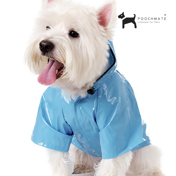 UP Blue Waterproof Raincoat - Small