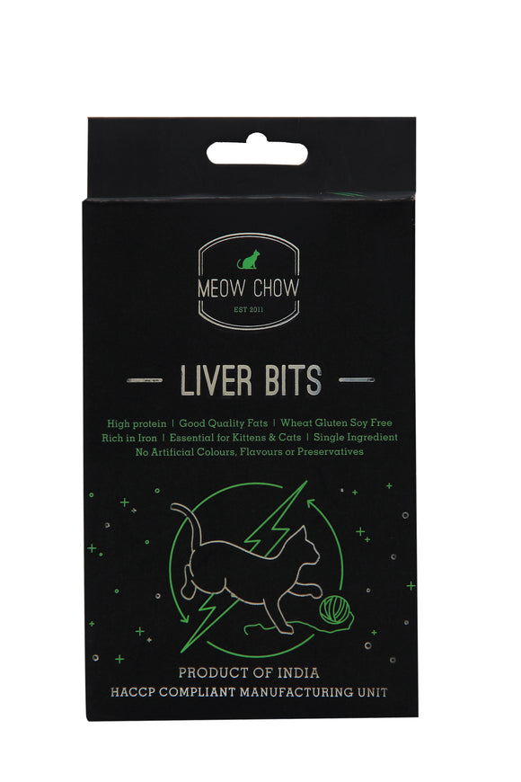 Meow Chow Liver Bits