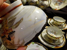 A Quality Kutani Porcelain Tea Set for 12