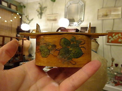 Antique Scandinavian Tine Box