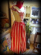Antique Theatrical Stripy Costume