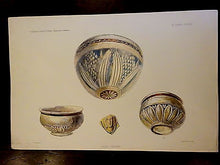 Antique Lithograph 1903 Ancient Glass Archaeology V