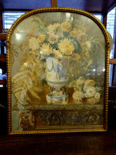 A Victorian Watercolour in Gilded Arched Frame