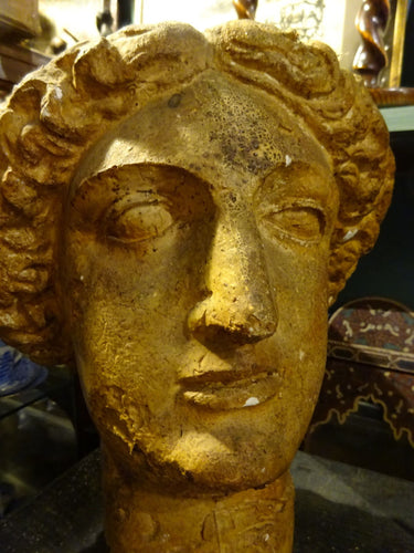 Penelope Ellis: Minerva Head Sculpture c 1950