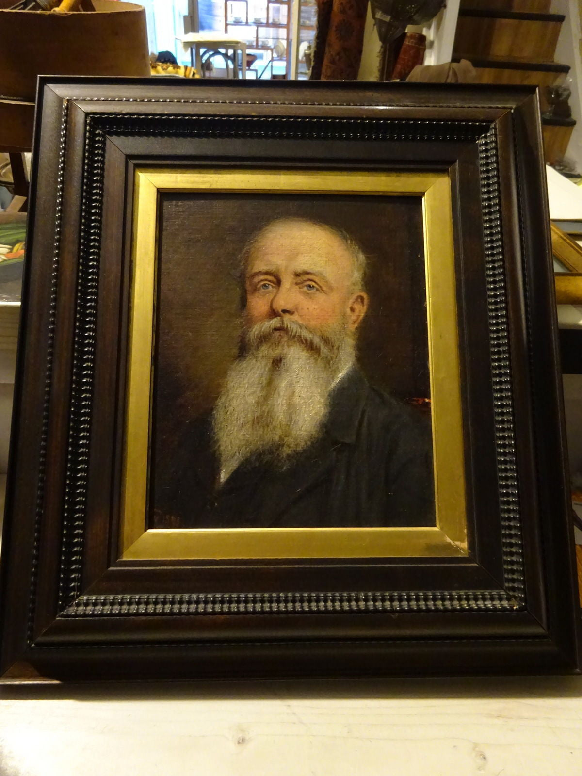 A Fine 19th Century Oil Painting of A Victorian Gentleman