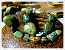 Beautiful & Rare Antique Tibetan Turquoise Beads Necklace