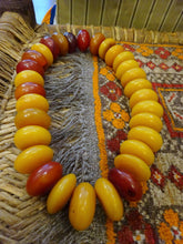 A Tribal Copal Beads Necklace