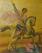 A 19th Century Greek Icon of St George
