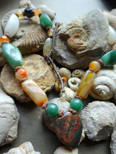 A Vintage Gemstone Necklace India