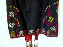 Vintage TURKMENISTAN – TEKKE TRIBE Silk Embroidered Woman's Coat