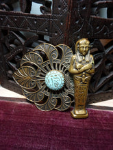 Beautiful Vintage Egyptian Revival Statement Brooch French