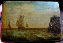 A 19th Century Nautical English School Oil Painting