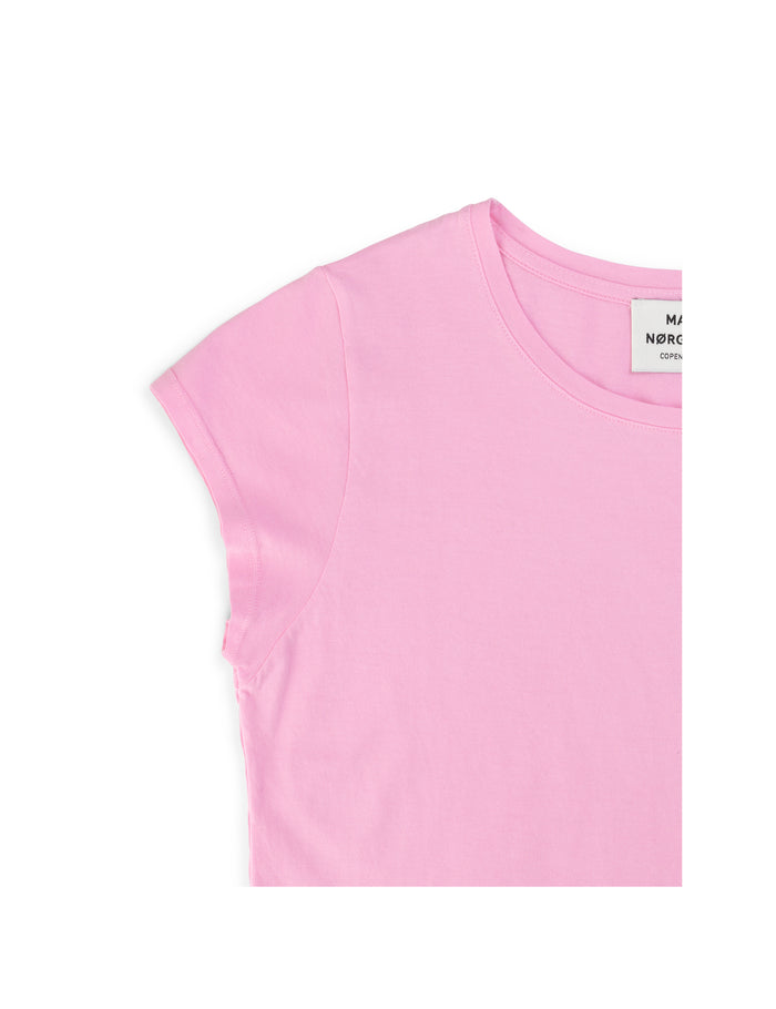 Jersey dip Teasy, Light pink